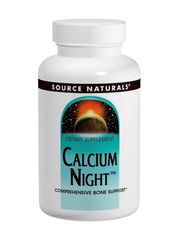 Source Naturals, Calcium Night, 120 ct