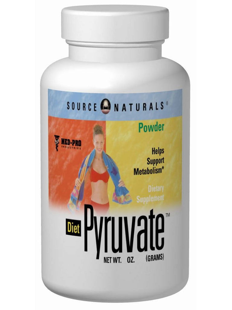 Source Naturals, Diet Pyruvate, 500mg, 3 oz