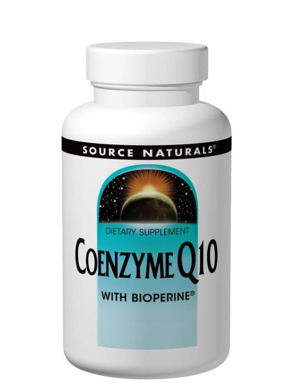 Source Naturals, Coenzyme Q10, 100mg with BioPerine, 60 softgels
