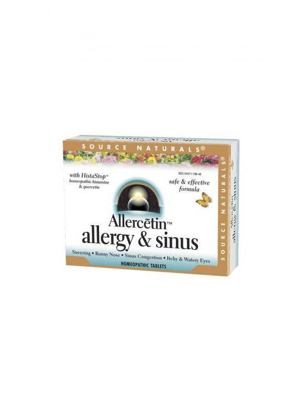 Source Naturals, Allercetin Homeopathic Bio-Aligned, 48 ct