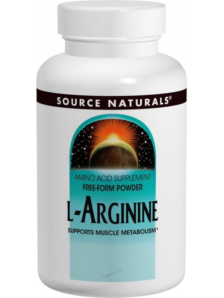 Source Naturals, L-Arginine, 500mg, 100 ct