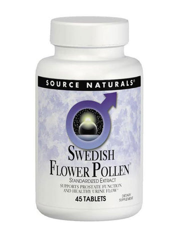 Source Naturals, Swedish Flower Pollen Extract, 90 ct