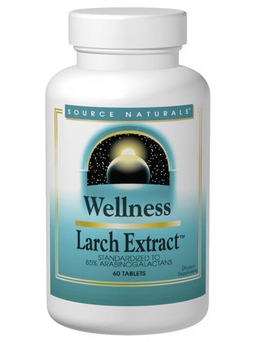 Source Naturals, Wellness Larch Extract, 1000mg, 60 ct
