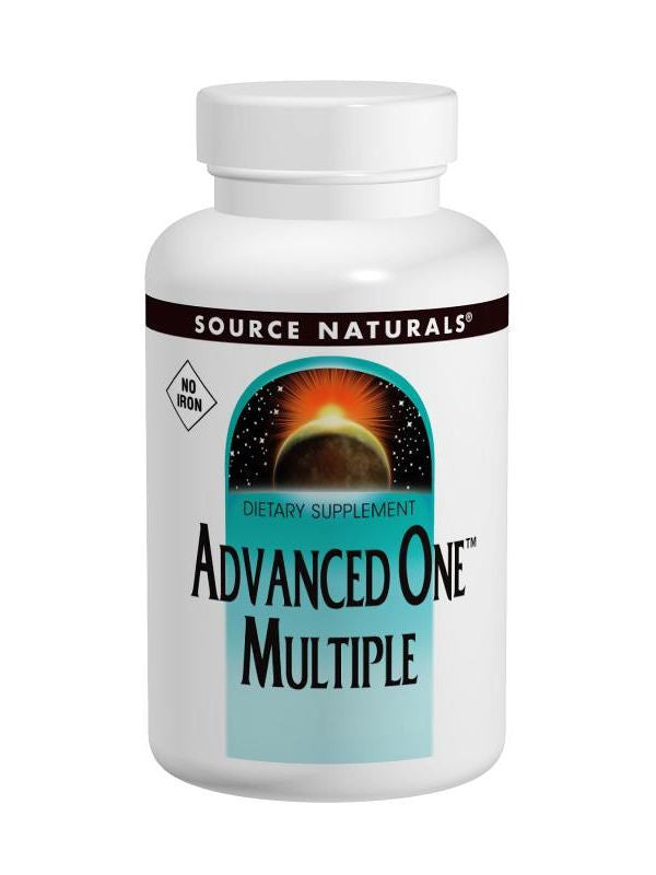 Source Naturals, Advanced One Multiple No Iron, 60 ct