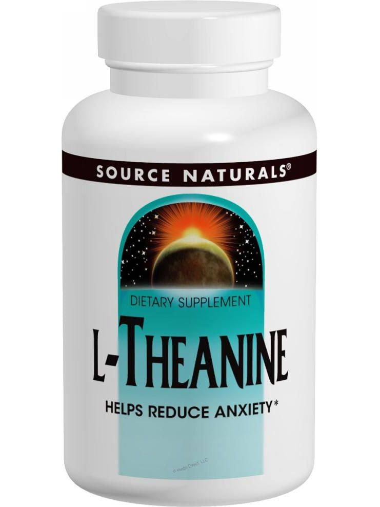 Source Naturals, L-Theanine, 200mg, 60 ct