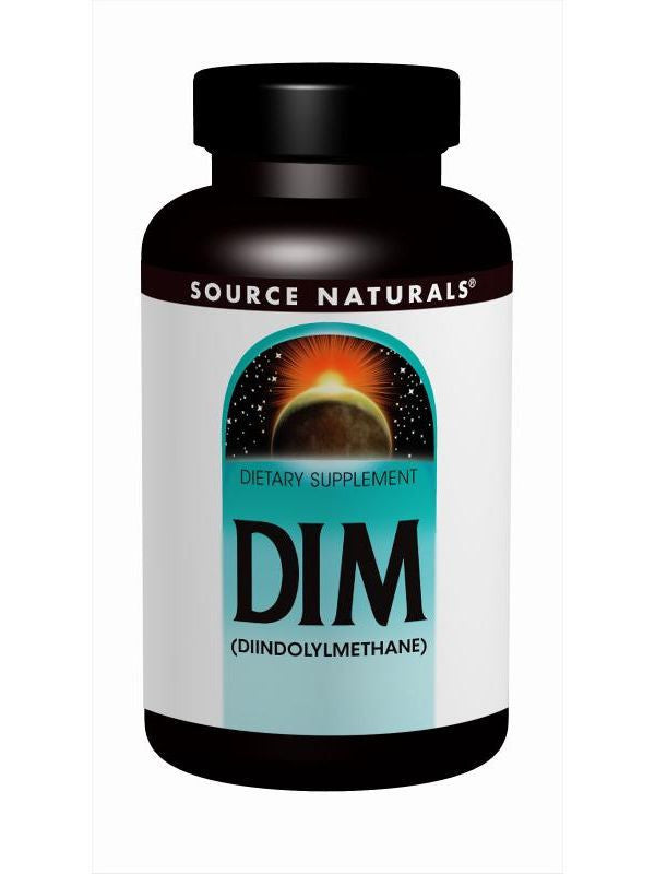 Source Naturals, DIM, 100mg, 60 ct