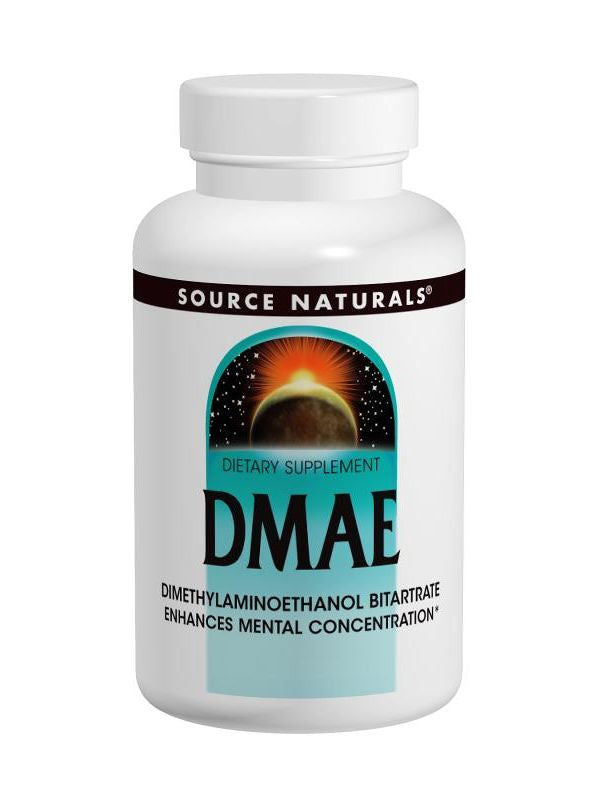 Source Naturals, DMAE, 351mg, 100 ct