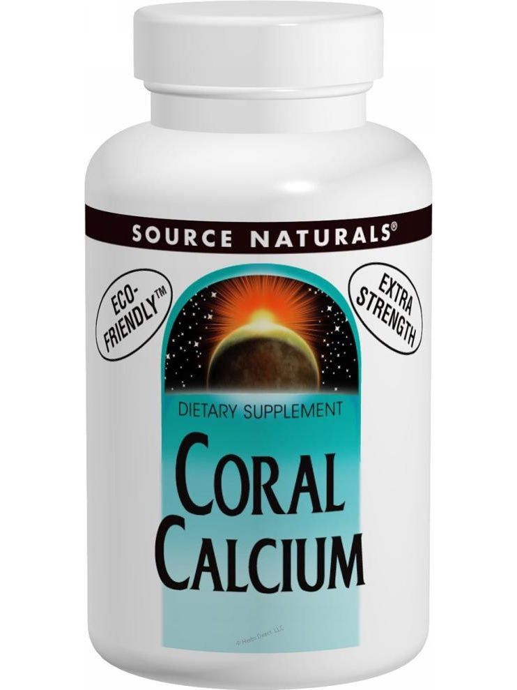 Source Naturals, Coral Calcium, 600mg, 60 ct