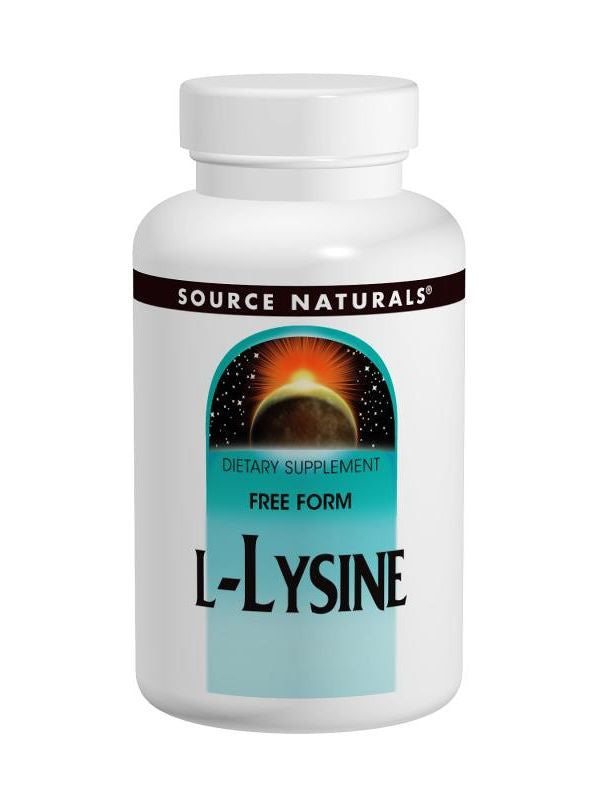 Source Naturals, L-Lysine, 500mg, 100 ct