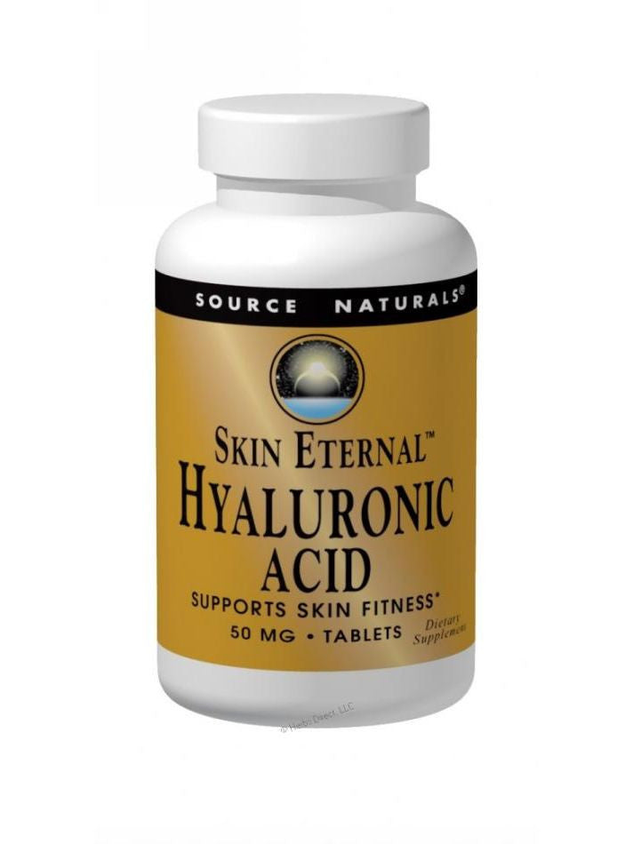Source Naturals, Skin Eternal Hyaluronic Acid, 60 ct