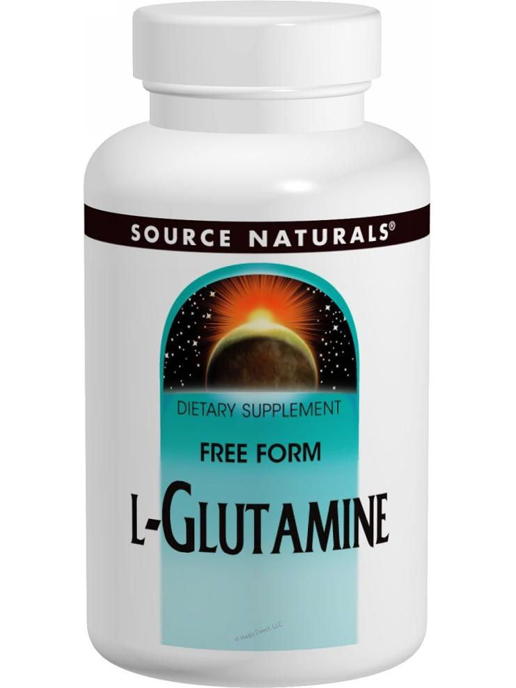 Source Naturals, L-Glutamine, 500mg, 50 ct
