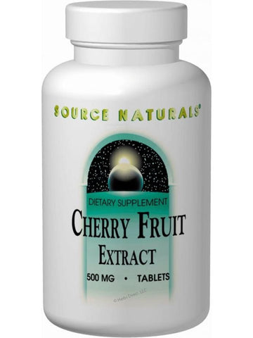 Source Naturals, Cherry Fruit Extract, 500mg, 180 ct