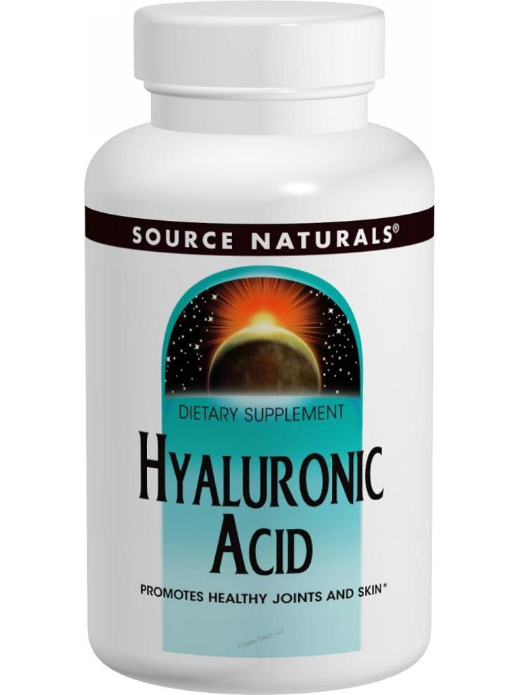 Source Naturals, Hyaluronic Acid, 50mg Bio-Cell Collagen II, 60 ct
