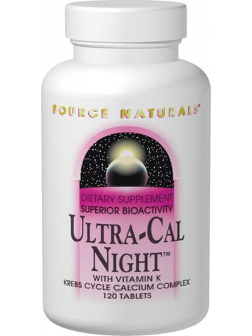 Source Naturals, Ultra Cal Night w/Vitamin K Bio-Aligned, 240 ct