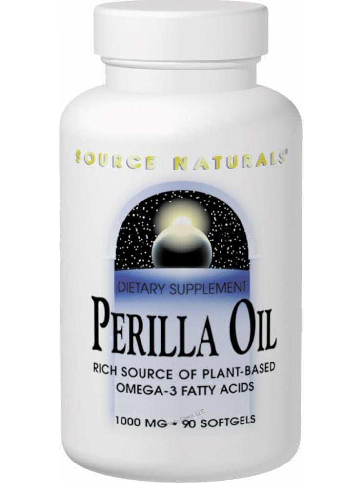 Source Naturals, Perilla Oil, 1000mg, 60 softgels