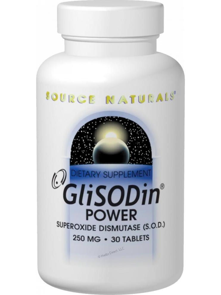 Source Naturals, GliSODin Power, 250mg, 60 ct