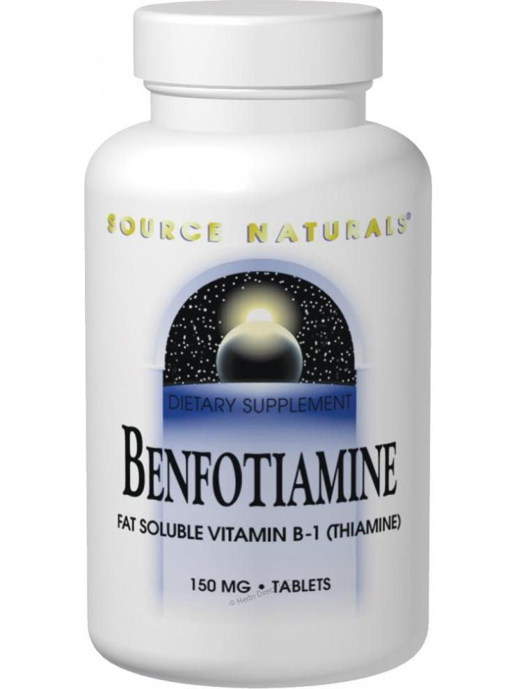 Source Naturals, Benfotiamine, 150mg, 120 ct