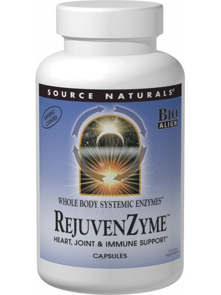 Source Naturals, RejuvenZyme Whole-Body Enzymes Bio-Aligned, 60 ct