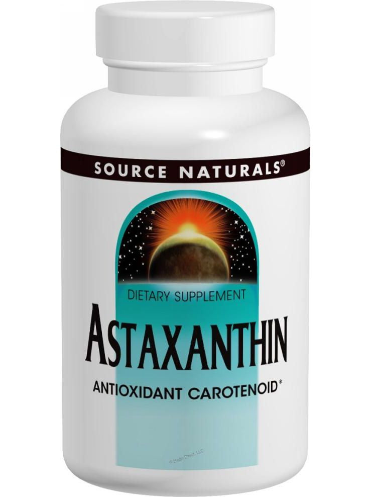 Source Naturals, Astaxanthin, 2mg, 60 softgels