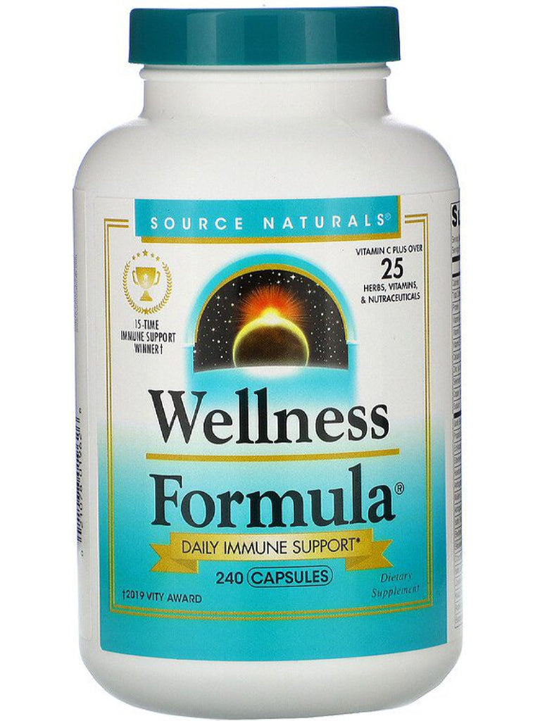 Source Naturals, Wellness Formula (CA), 240 ct