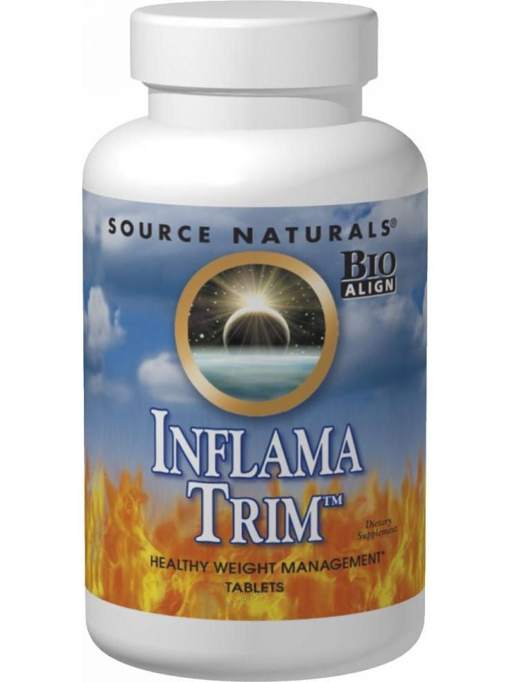 Source Naturals, Inflama-Trim Bio-Aligned, 90 ct