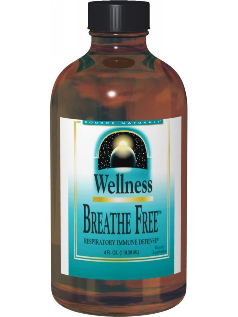 Source Naturals, Wellness Breathe Free Syrup 8 oz, 8 oz