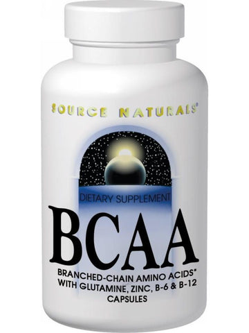Source Naturals, BCAA Branch Chain Amino Acids, 120 ct