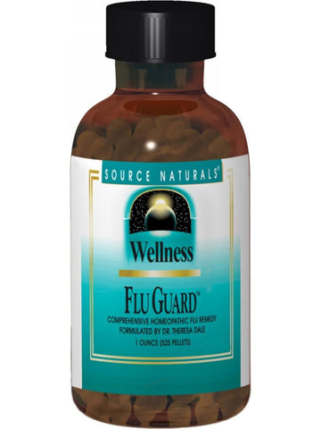 Source Naturals, Wellness FluGuard Pellets, 525 PELLETS