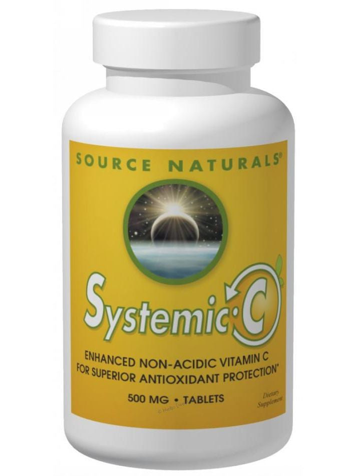 Source Naturals, Systemic C, 500mg, 60 ct