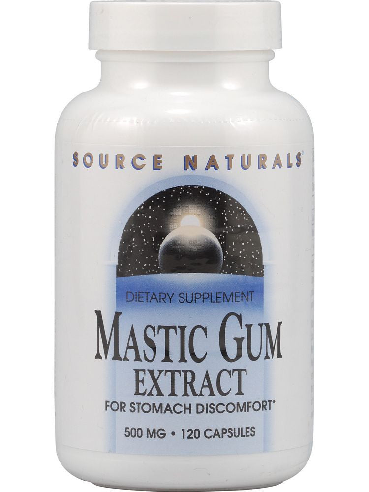 Source Naturals, Mastic Gum Extract, 500mg, 120 ct