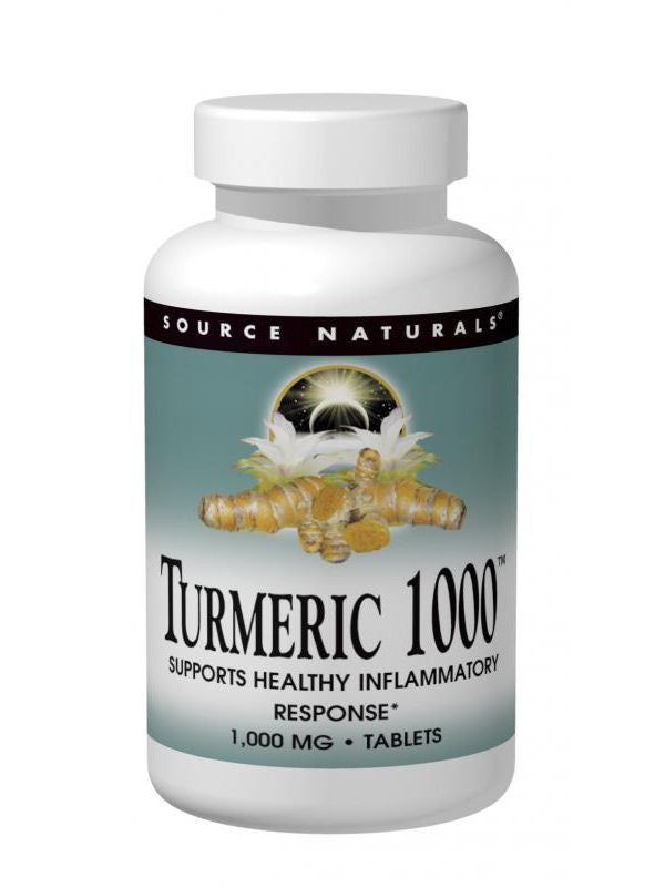 Source Naturals, Turmeric 1000 95% Curcumin, 1000mg, 30 ct