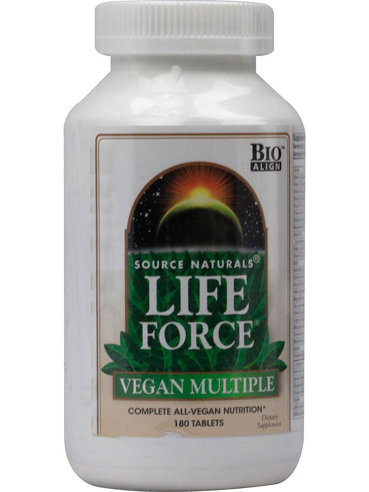 Source Naturals, Life Force Vegan Multiple, 180 ct