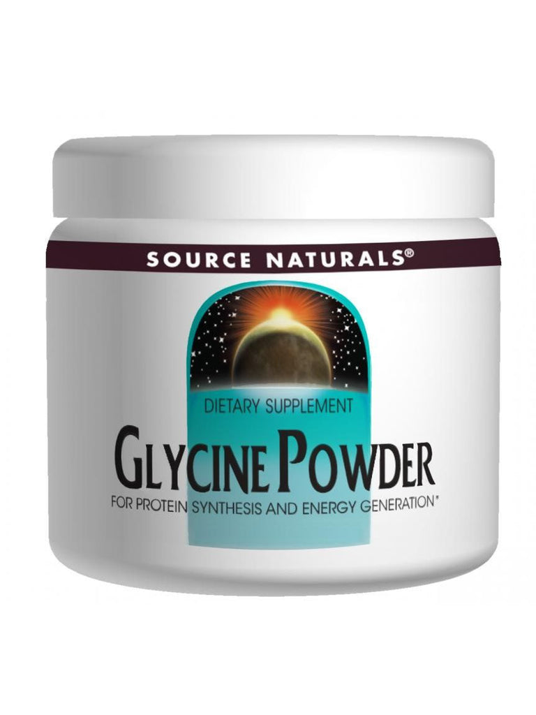 Source Naturals, Glycine powder, 16 oz