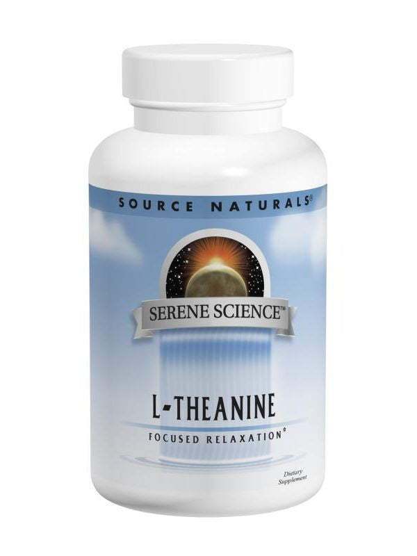 Source Naturals, L-Theanine, 200mg, 120 ct