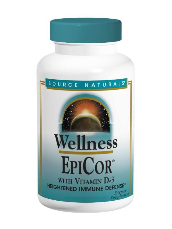 Source Naturals, EpiCor with Vitamin D-3, 60 ct