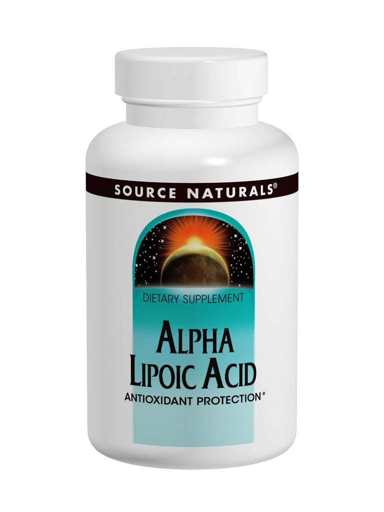 Source Naturals, Alpha Lipoic Acid, 600mg, 30 ct