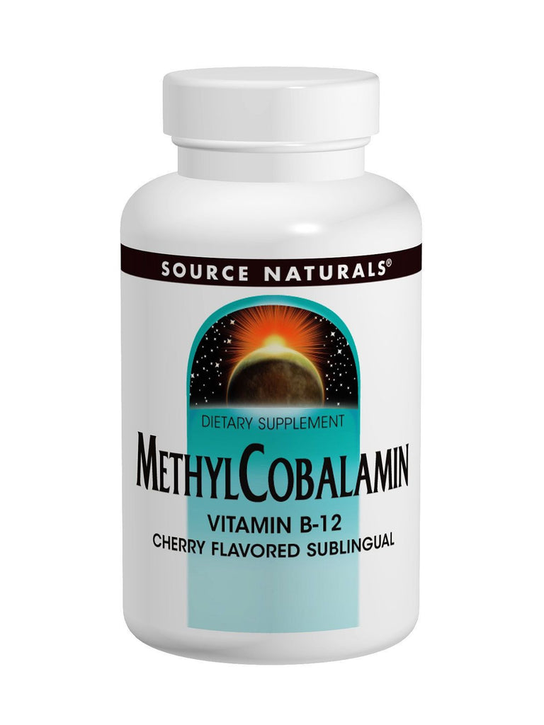 Source Naturals, MethylCobalamin Fast Melt, 60 FAST MELT
