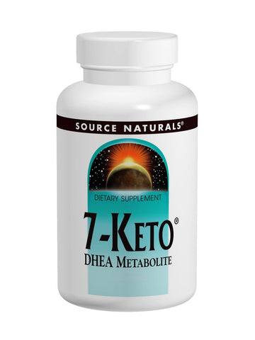 Source Naturals, 7-Keto DHEA Metabolite, 100mg, 60 ct