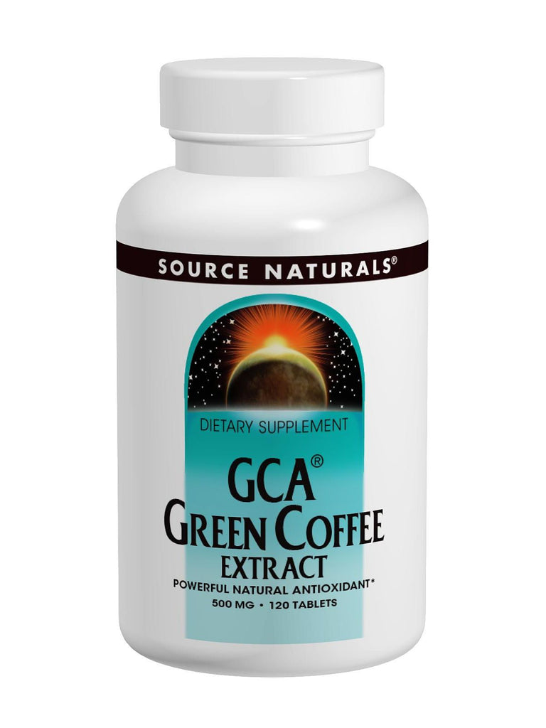 Source Naturals, GCA Green Coffee Extract, 120 ct