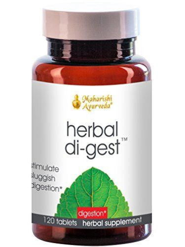 Herbal Di-Gest, 120 tablets, VPK by Maharashi
