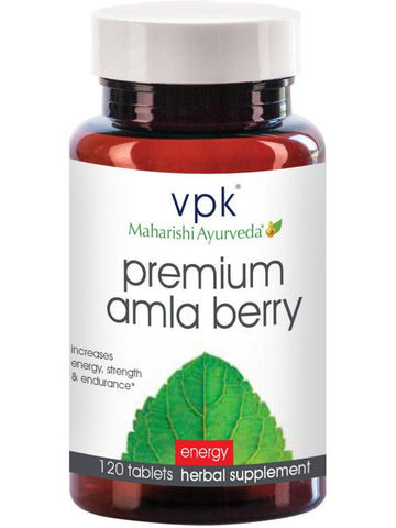 Premium Amla Berry, 120 tablets, VPK by Maharashi