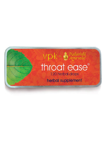 Throat Ease, 120 lozenges, VPK by Maharashi