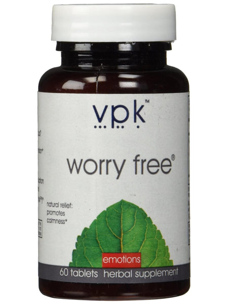 Worry Free, 60 tablets, VPK by Maharashi