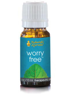 Worry Free Aroma Oil, 10 ml, VPK by Maharashi
