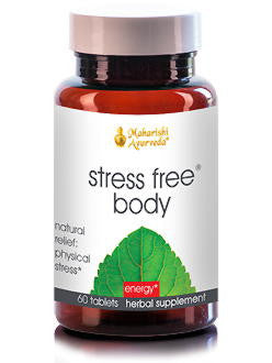 Stress Free Body, 60 tablets, VPK by Maharashi