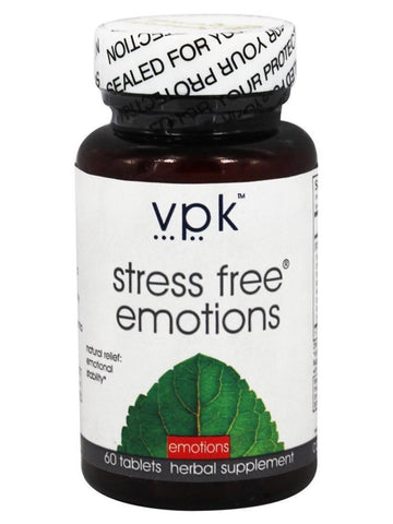 Stress Free Emotions, 60 tablets, VPK by Maharashi