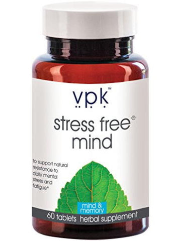 Stress Free Mind, 60 tablets, VPK by Maharashi