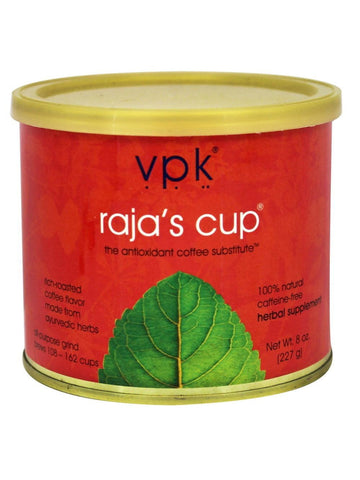 Raja's Cup (Coffee Substitute), 8 oz. tin, VPK by Maharashi
