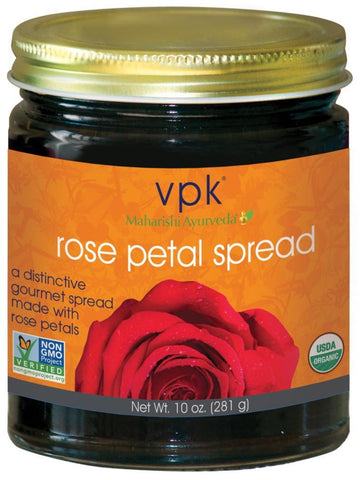Rose Petal Spread, Organic, 10 oz, VPK by Maharashi