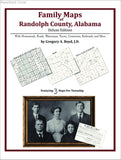 Family Maps of Randolph County, Alabama (Paperback book cover)